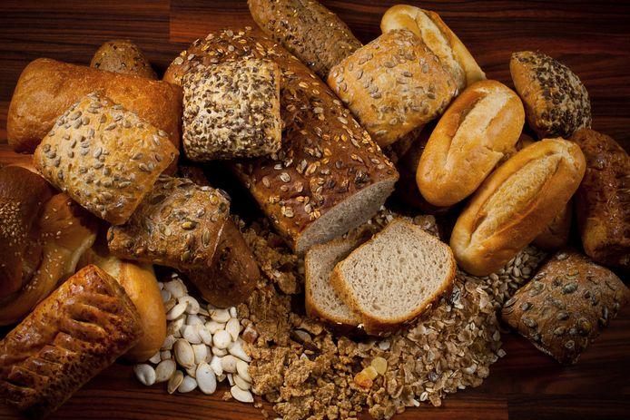 Assortiment aan brood.