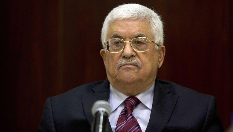 De Palestijnse president Mahmoud Abbas neemt ontslag.
