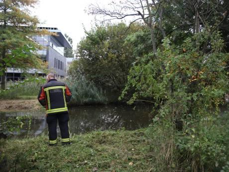 Politie en brandweer zoeken in Goudse sloot naar persoon, maar die blijkt gewoon thuis te zitten