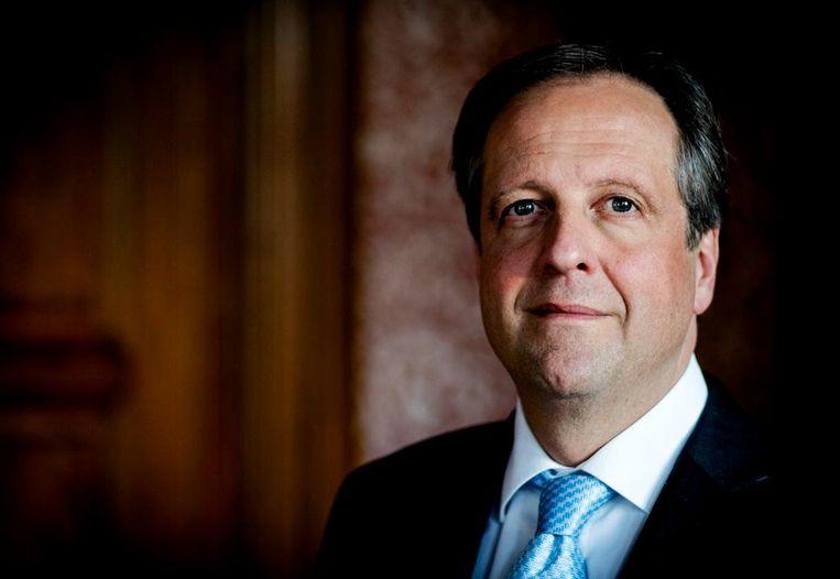 D66-leider Alexander Pechtold: 'Voor mij is de grens bereikt. Ik láát me niet meer intimideren' Beeld ANP