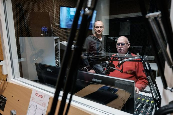René Regelink (links) en Lammert Blikman.