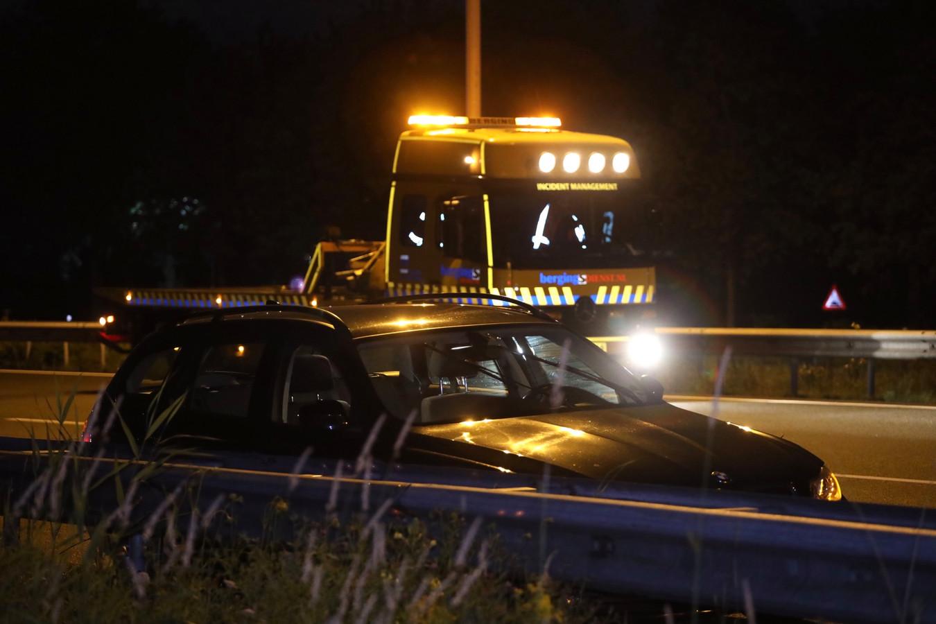 Het ongeluk gebeurde op de A2 tussen Vught en Boxtel.