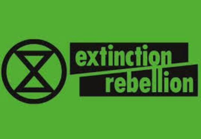 Extinction Rebellion is actief in Wageningen.