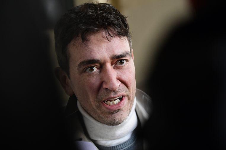 Sebastien Courtoy, een van de advocaten van hoofdbeschuldigde Mehdi Nemmouche.