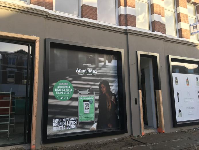 Anne & Max opent in februari een nieuwe zaak in de Wilhelminastraat in Breda. De straat ligt momenteel deels open vanwege werkzaamheden.