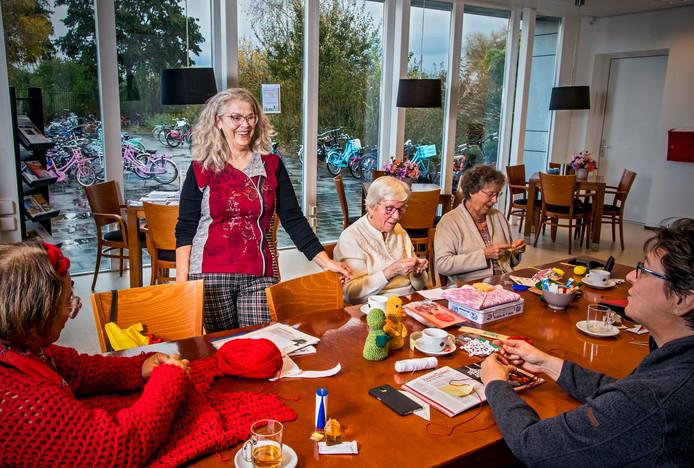 Wendeline Oeij gaat een cabaretgroep voor senioren organiseren in Capelle in wijkcentrum de Harp. Foto: Frank de Roo