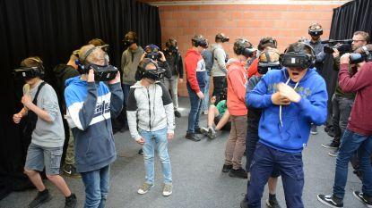 Jongeren ervaren in virtual reality gevaren van spoorlopen
