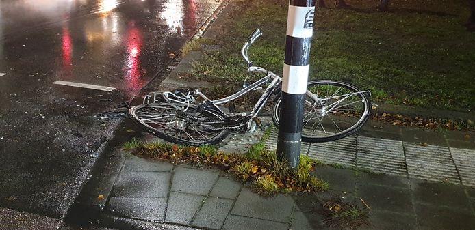 De overreden fiets
