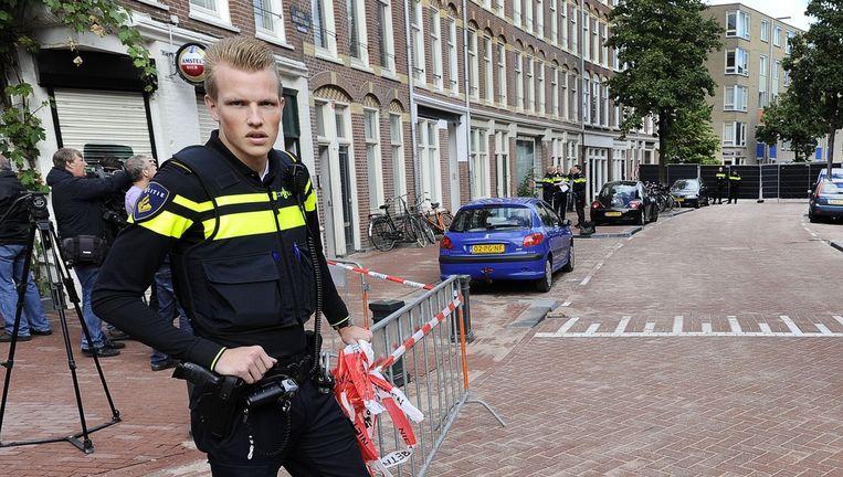 De politie krijgt heftige kritiek en toch blijkt uit onderzoek dat de politie op stevig vertrouwen mag rekenen. Beeld anp