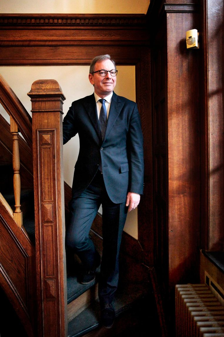 Frits Bakker, voorzitter van de Raad voor de rechtspraak Beeld Aurélie Geurts