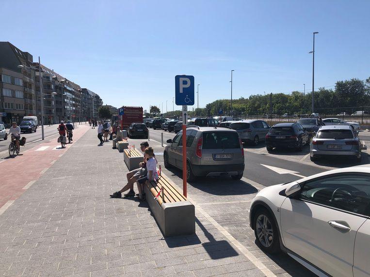 Parking Shopping Duinen in Bredene.