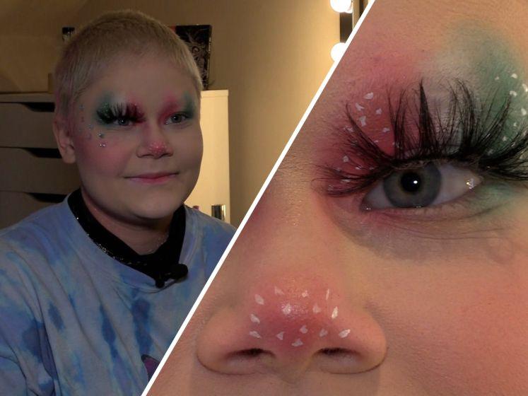 Brabantse Amber (15) doet mee aan Make-up Cup: 'Er hangt echt een hele fijne sfeer'