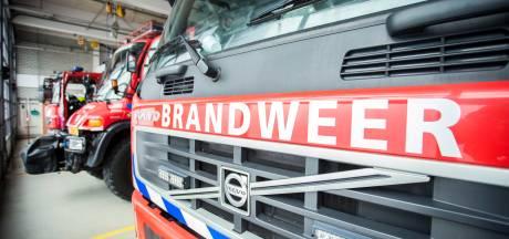 Brand bij distributiecentrum PostNL in Amersfoort
