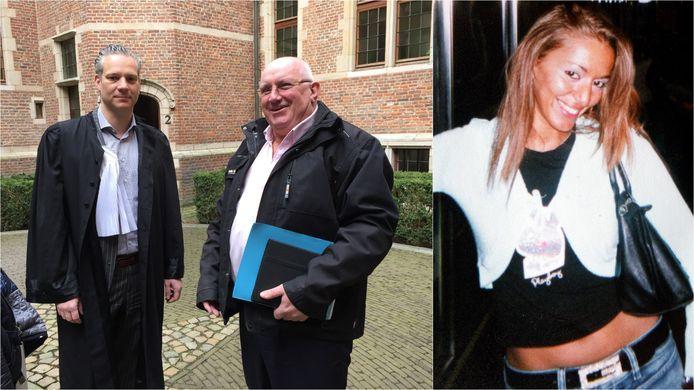 Wim Beckmann (samen met advocaat Walter Damen) wordt verdacht van de moord op Samira Bekkar