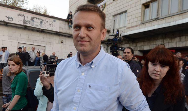 Alexei Navalny. Beeld anp