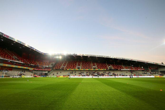 Het AFAS-stadion Achter de Kazerne in Mechelen