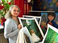 Afghaanse 'vrijheidsstrijder' gebruikt penseel als wapen