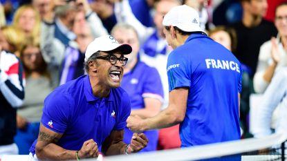 Pouille zet Frankrijk in halve finale Davis Cup op dubbele voorsprong tegen Spanje - Kroatië op zucht van finale