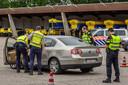 Politiecontroles rond Breda.