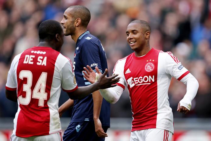 Lerin Duarte beleefde een teleurstellende periode bij Ajax.