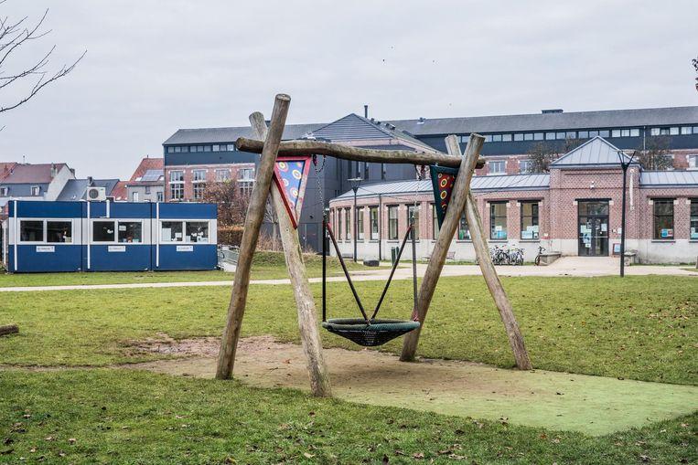 Het Lousbergpark, waar Het Klaverblad momenteel verblijft.