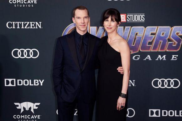 Benedict Cumberbatch en zijn vrouw Sophie Hunter.