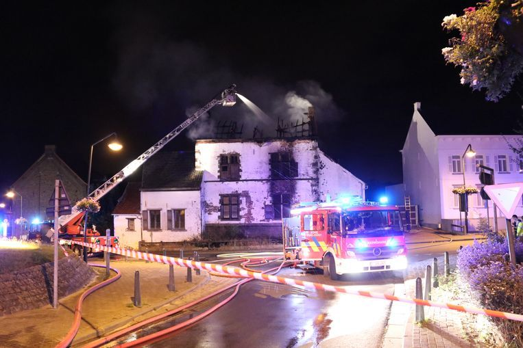 De brand ontstond op 31 juli dit jaar.