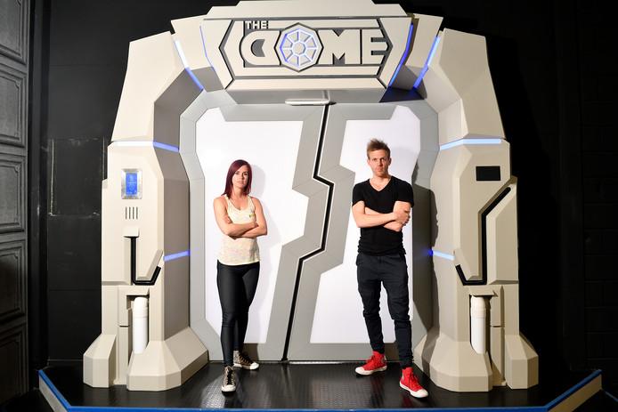 Dori Németh en Eric Spring in 't Veld van Escape Room Nederland.
