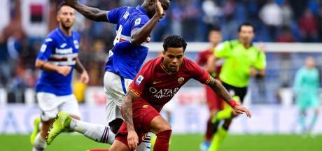 Roma morst punten bij hekkensluiter en verliest Kluivert met rood