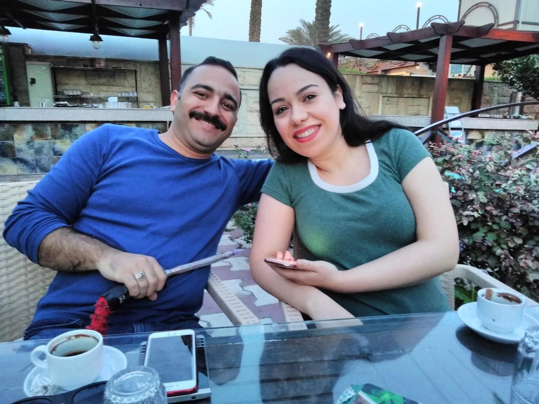 Mustafa al-Ani en Merry al-Khafaji in Bagdad
