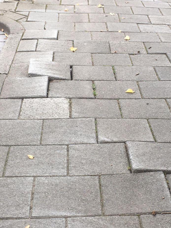 Het wegdek van de Baai, Henegouwenlaan en de Doornikstraat verkeert in zeer slechte staat, vindt de VVD in Etten-Leur.