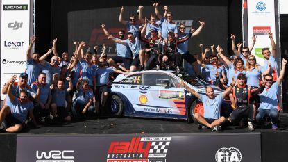 """Neuville wint Rally van Australië en is vicewereldkampioen: """"Eerst genieten, dan focussen op volgend jaar"""""""
