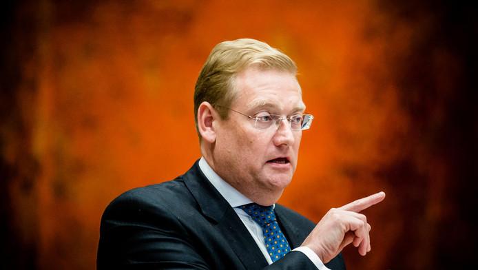 Ard van der Steur, minister van Veiligheid en Justitie