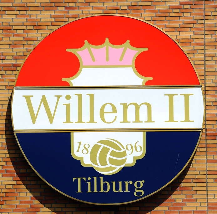 Het logo van Willem II.