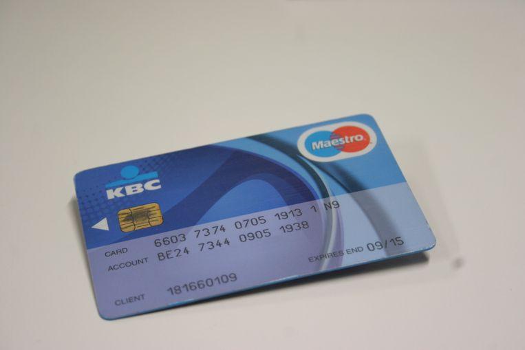 bank bankkaart