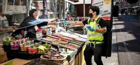 Marktlieden Albert Cuyp luiden noodklok over mondkapjesplicht
