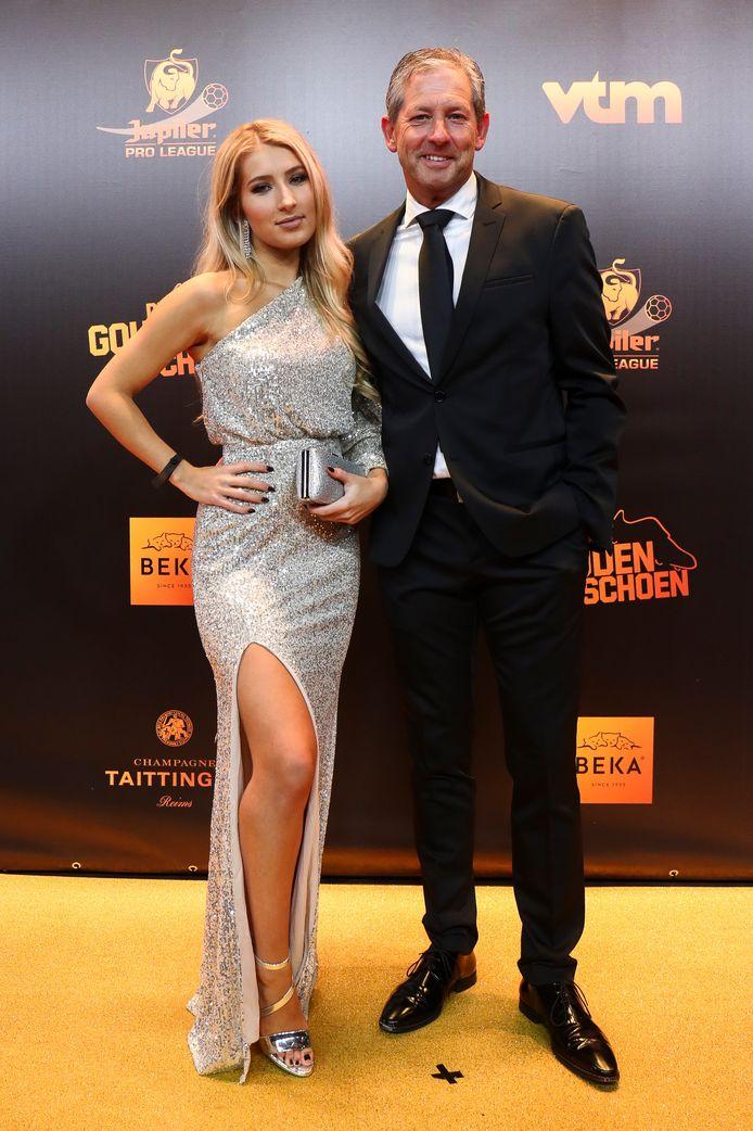 Frank De Bleeckere et sa fille Camille