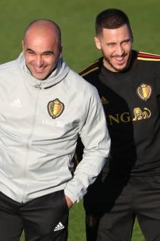 """Martinez défend Hazard: """"Il n'est pas si gros"""""""