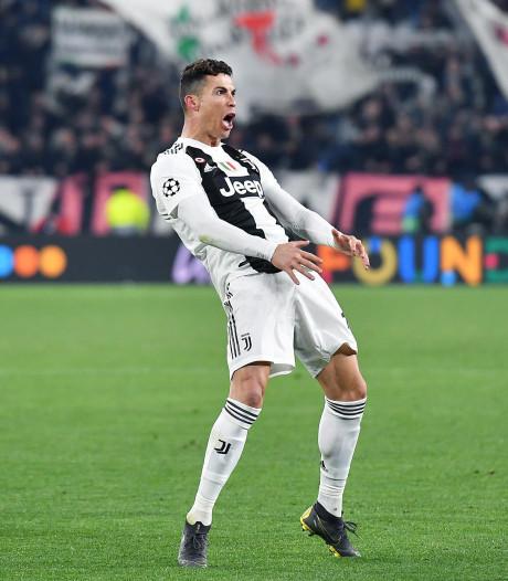 UEFA doet onderzoek naar obsceen gebaar Ronaldo in CL-duel Juve