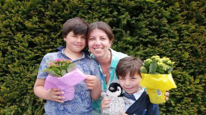 Basisschool De Groene Poort uit Sint-Maria-Oudenhove vergeet mama's niet