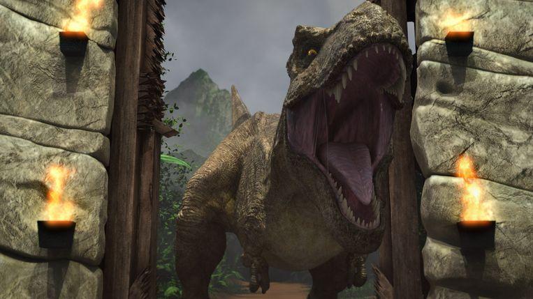 Jurassic World Beeld Netflix