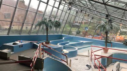 Renovatiewerken Begijntjesbad volop bezig: volgende week gaat dak eraf