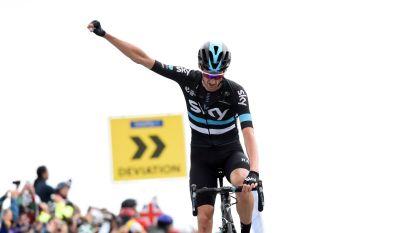 """Poels triomfeert op steile slotklim, Wellens (3de) kleurt finale in Ruta del Sol: """"Ik laat toch wel heel mooie namen achter me"""""""
