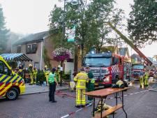 Grote brand Leger des Heils in Gelderland: vermiste personen zijn terecht
