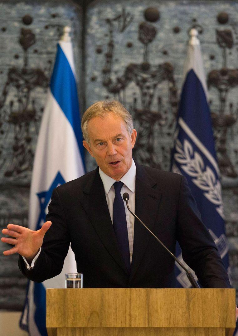 Tony Blair Beeld epa