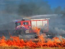 Waarschuwing natuurbranden opgeschaald naar code oranje