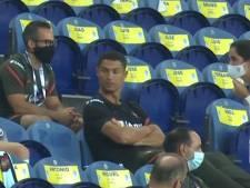 Cristiano Ronaldo oublie son masque... et est rappelé à l'ordre