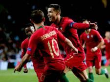 Uitblinker Ronaldo schiet Portugal met hattrick naar finale Nations League