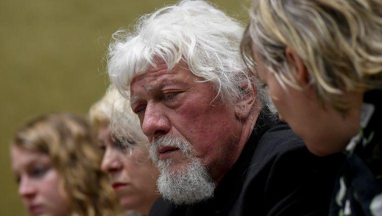 Jan Jacob, de vader van de overleden Jonathan vandaag in de rechtszaal.
