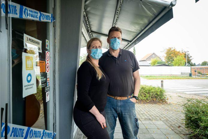 Bakkerij Kika & Co van Jessika De Boelpaep en Davy Punt kreeg inbrekers over de vloer.